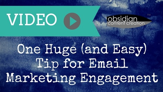 One Huge (and Easy) Tip for Email Marketing Engagement